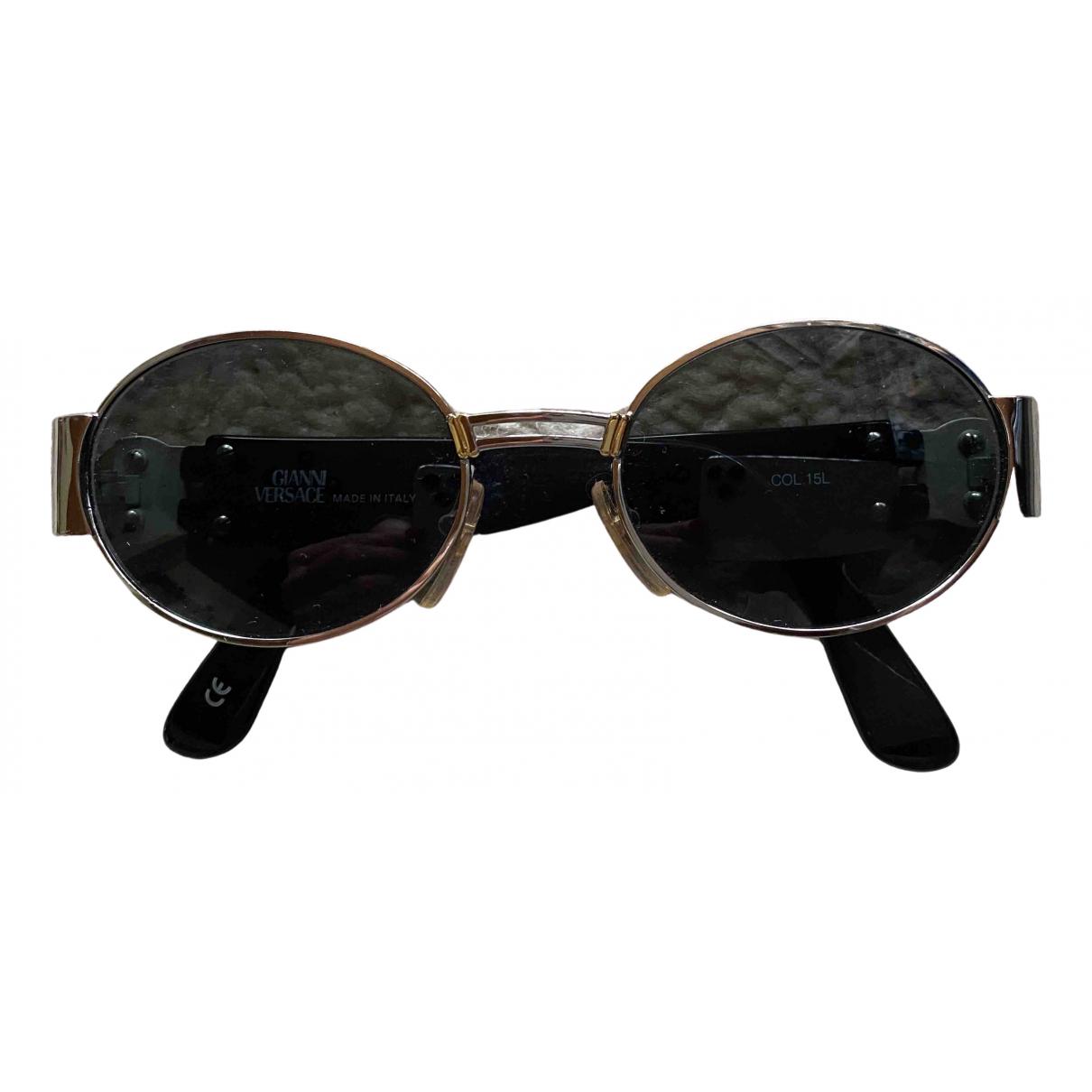 Gianni Versace \N Sonnenbrillen in  Silber Metall