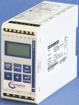 Crompton Controls 10.1 → 25 A Motor Load Monitor, 380 → 500 V