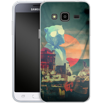 Samsung Galaxy J3 (2016) Silikon Handyhuelle - Abracadabra von Ali Gulec