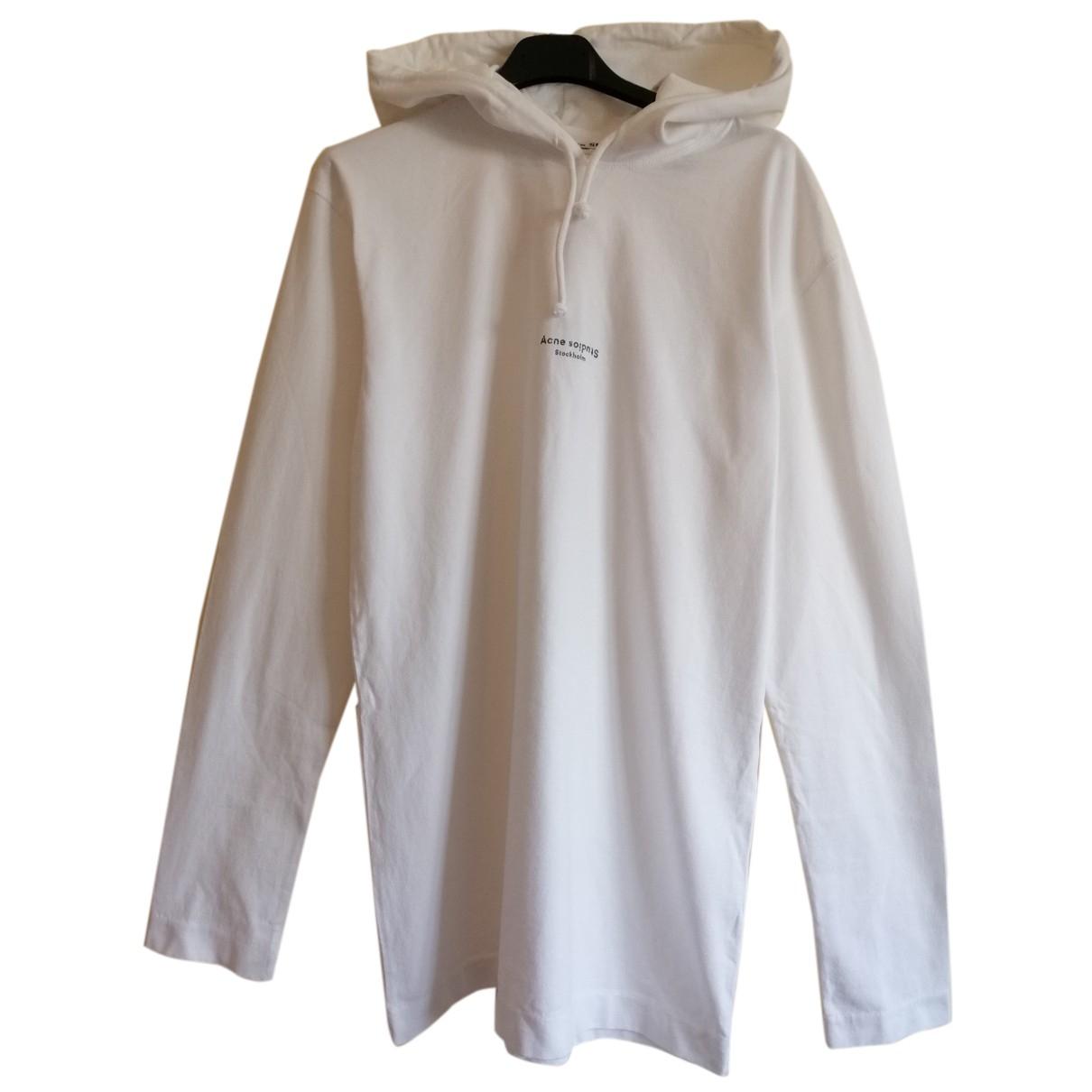 Acne Studios N White Cotton Knitwear & Sweatshirts for Men S International