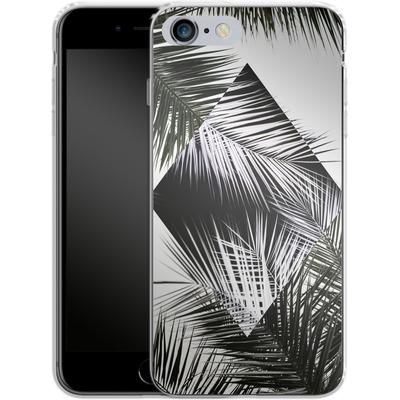 Apple iPhone 6s Plus Silikon Handyhuelle - Palm Leaves 3 Geometry 2 von Mareike Bohmer