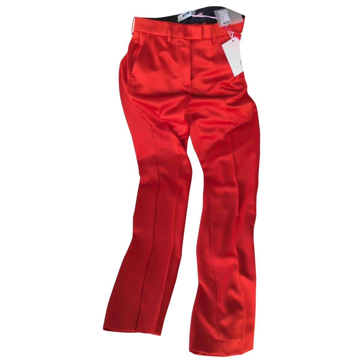 Pantalon recto Msgm