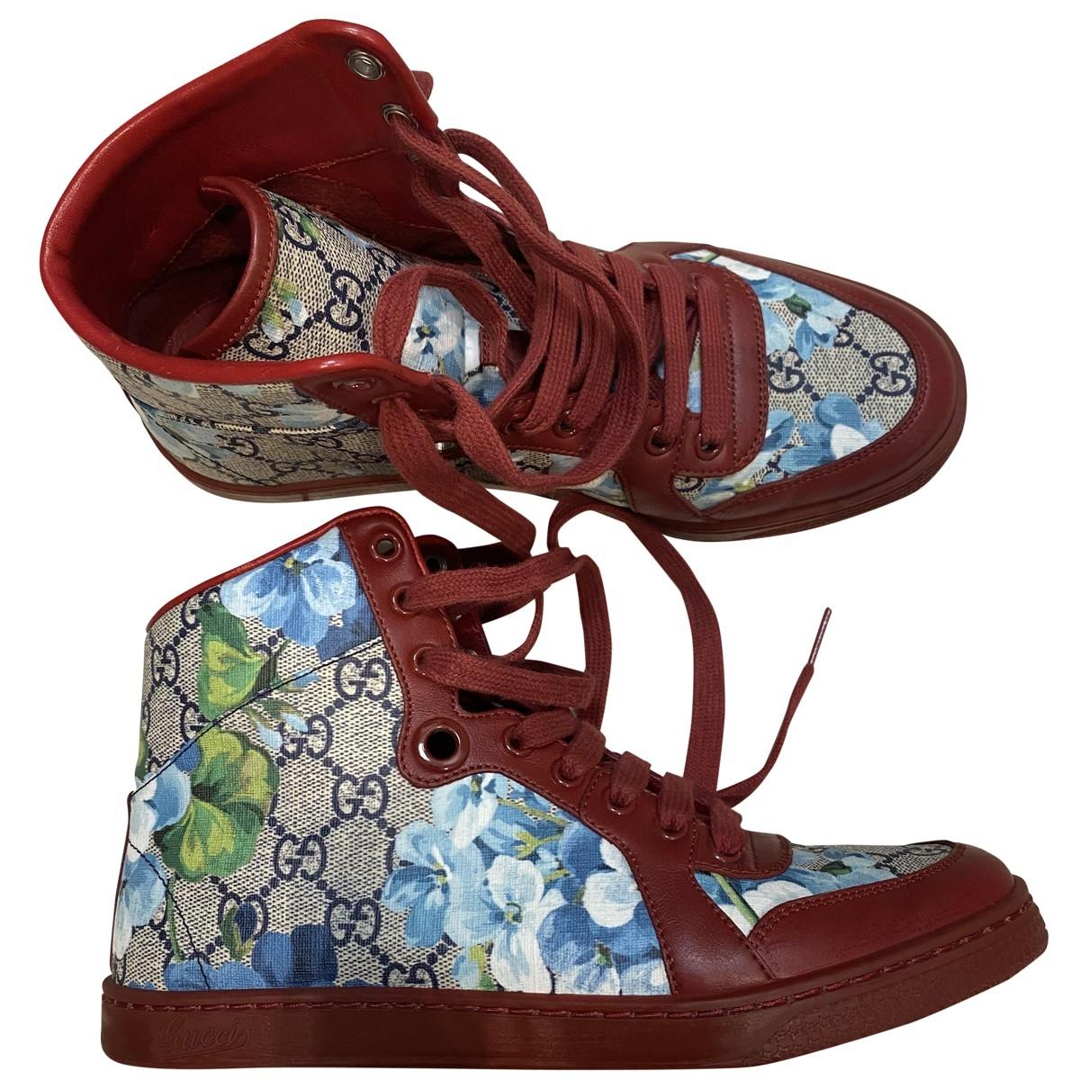Gucci - Baskets   pour femme en toile - multicolore