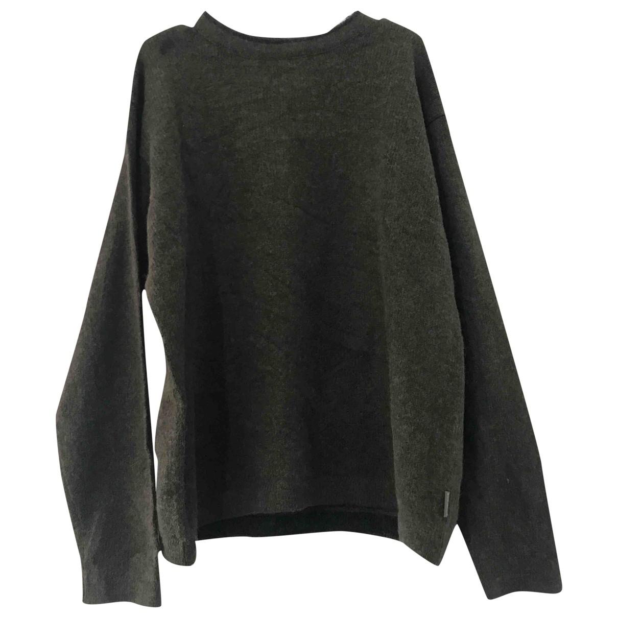 Woolrich \N Pullover.Westen.Sweatshirts  in  Gruen Wolle