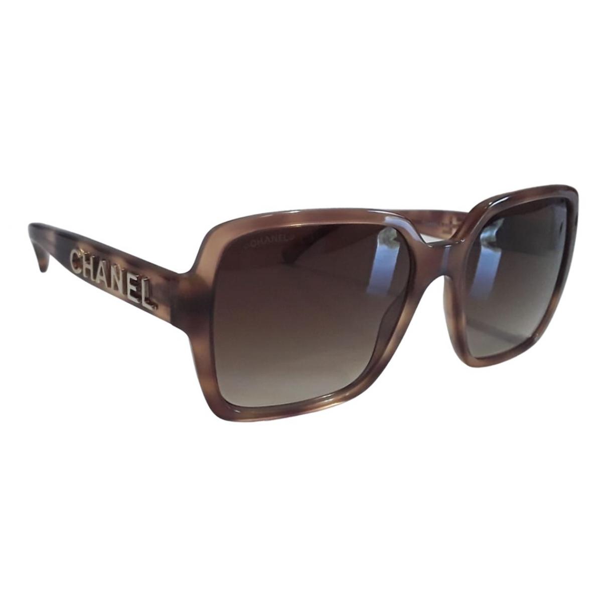 Chanel \N Brown Sunglasses for Women \N