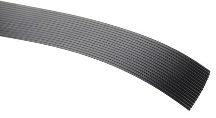 3M 16 Way Unscreened Flat Ribbon Cable, 20.32 mm Width, Series 3319, 5m