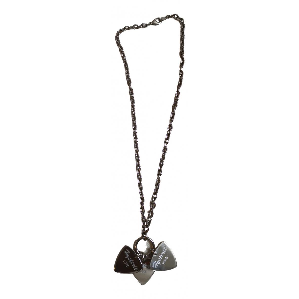Hysteric Galmour - Collier   pour femme en metal - argente