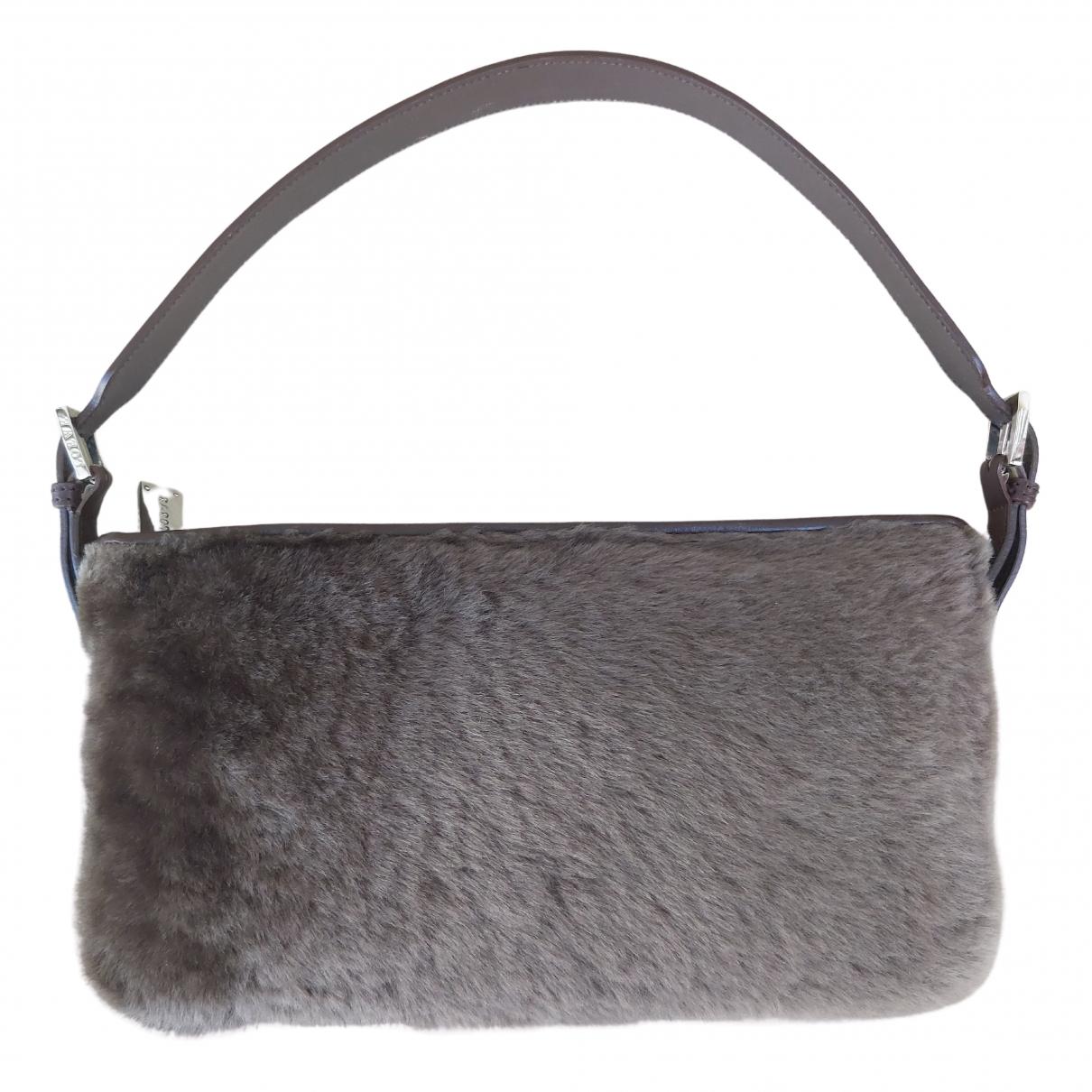 Loewe \N Handtasche in  Braun Nerz