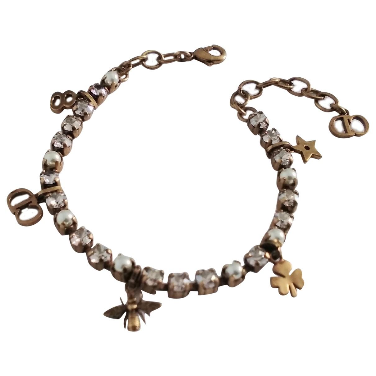 Dior - Bracelet Monogramme pour femme en metal - dore