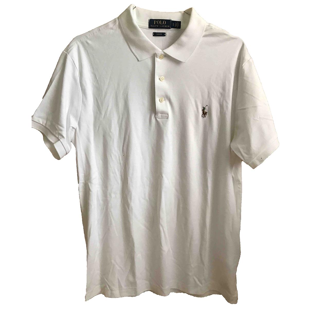 Polo Polo ajuste manches courtes en Algodon Blanco Polo Ralph Lauren