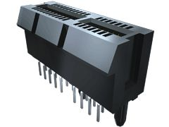 Samtec , PCIE Female PCBEdge Connector, Edge Mount Mount, 98 Way, 2 Row, 1mm Pitch, 2.2A (10)