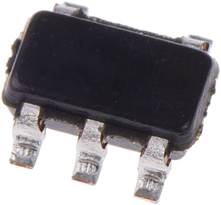 Analog Devices AD8628ARTZ-R2 , Chopper Stabilized, Op Amp, RRIO, 2.5MHz, 3 V, 5-Pin SOT-23
