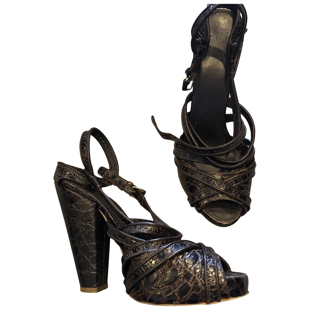 Sandalias de Cuero Givenchy