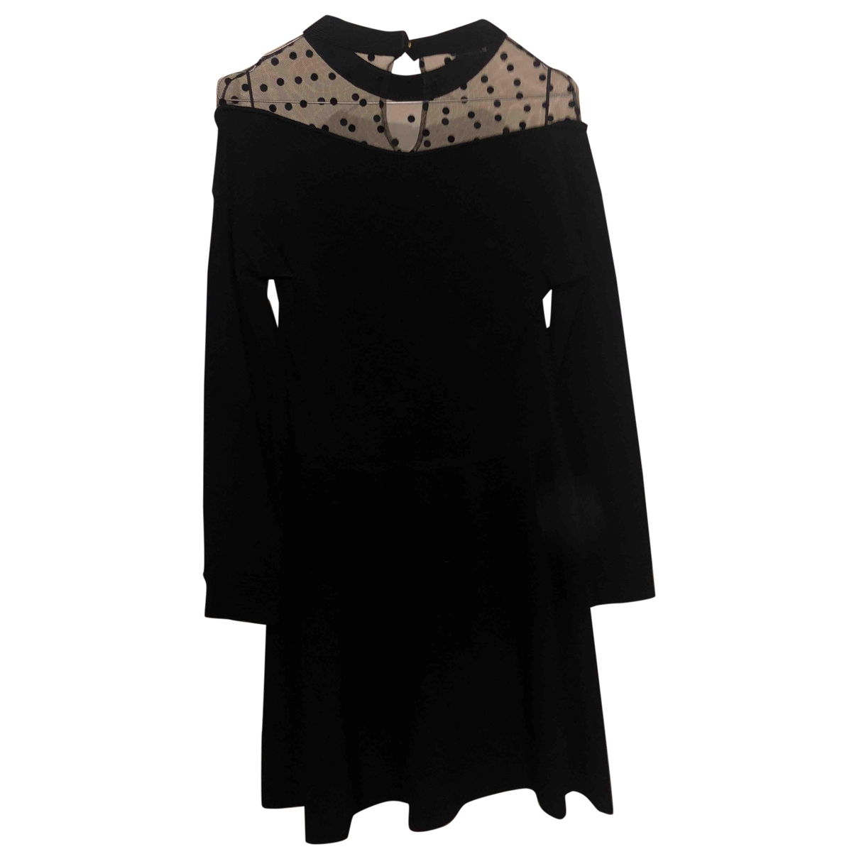 Emanuel Ungaro \N Kleid in  Schwarz Synthetik