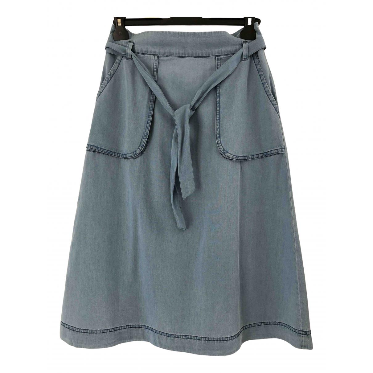 Cyrillus \N Rocke in  Blau Denim - Jeans