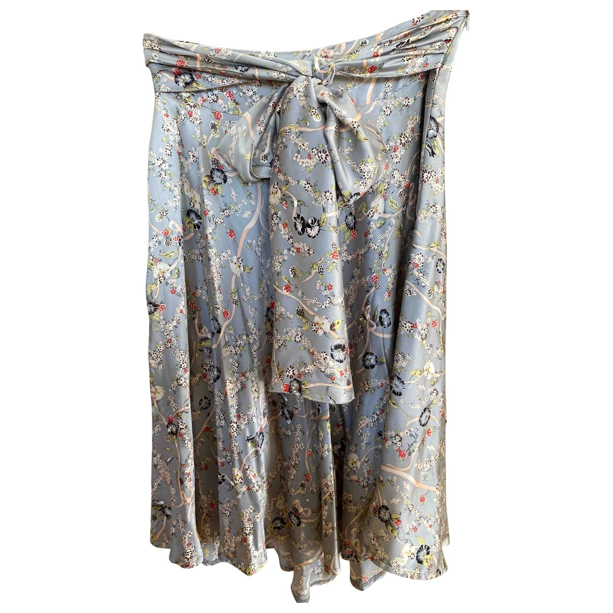 Non Signé / Unsigned \N Multicolour Silk skirt for Women M International