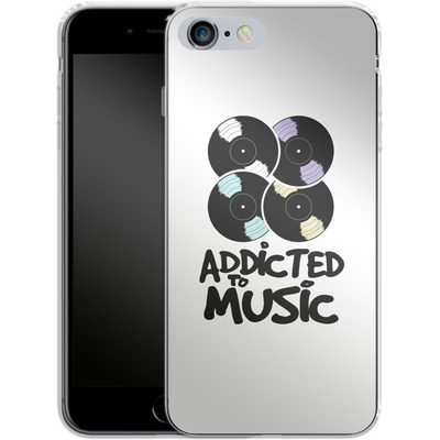 Apple iPhone 6s Plus Silikon Handyhuelle - Addicted To Music von Claus-Peter Schops