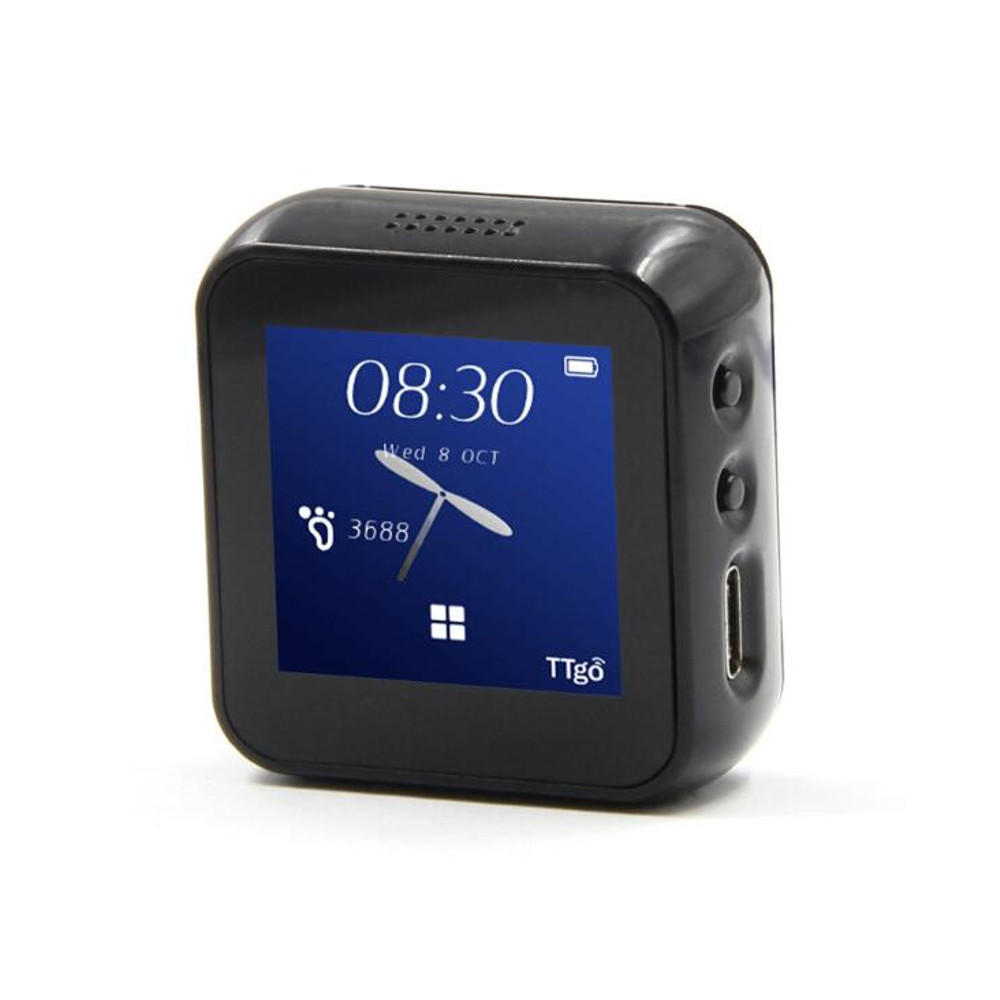 LILYGO TTGO T-Watch Programmable And Networked Open Source Smart Watch That Interacts With The Environment As A Wearable