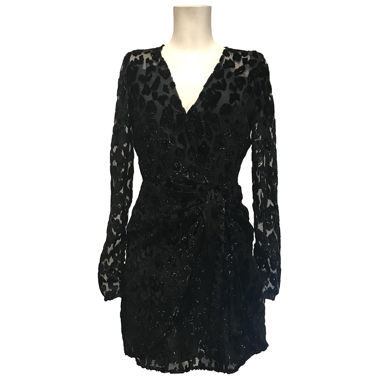 Self Portrait N Black Lace dress for Women 8 UK