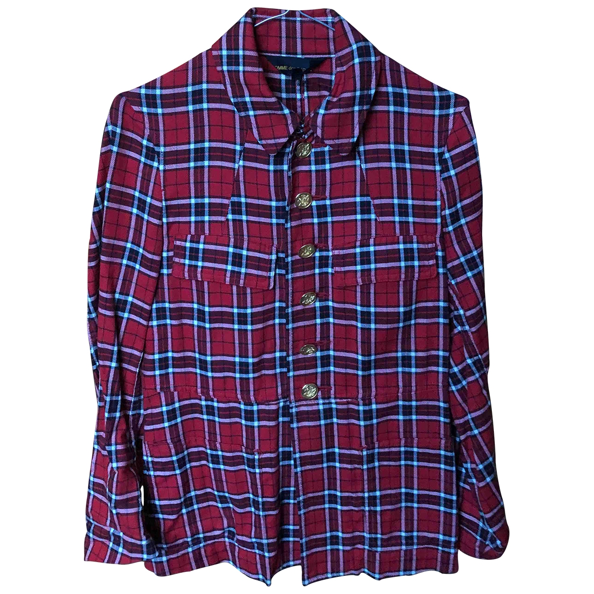 Comme Des Garcons \N Red Cotton jacket for Women XS International