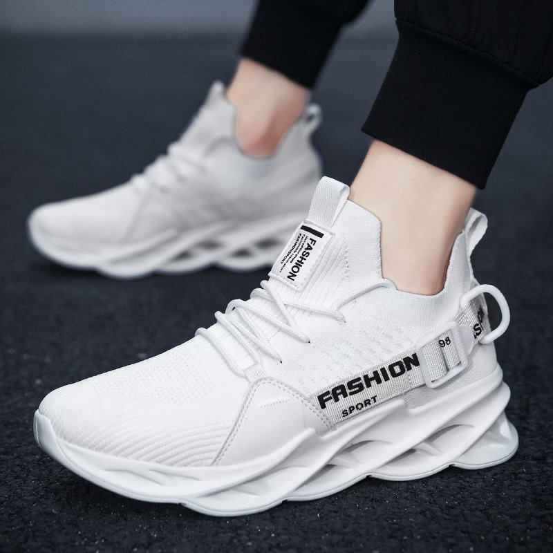 Ericdress Mid-Cut Upper Lace-Up Sports Mesh Sneakers