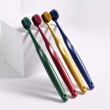 2pcs Random Color Plastic Toothbrush