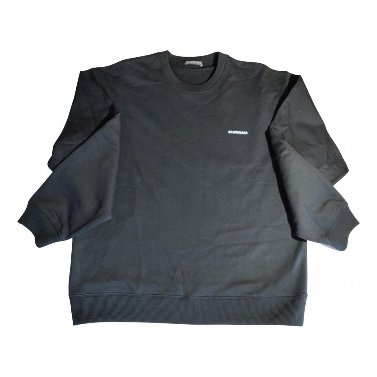 Balenciaga N Black Cotton Knitwear & Sweatshirts for Men S International