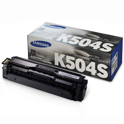 Samsung CLT-K504S Original Black Toner Cartridge