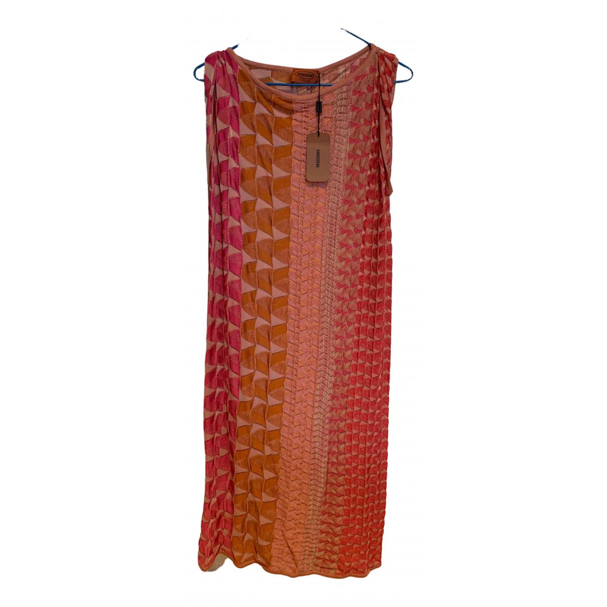 Missoni - Robe   pour femme en coton - multicolore