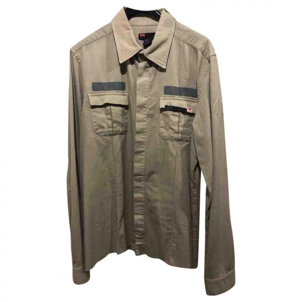 Diesel \N Hemden in  Gruen Baumwolle