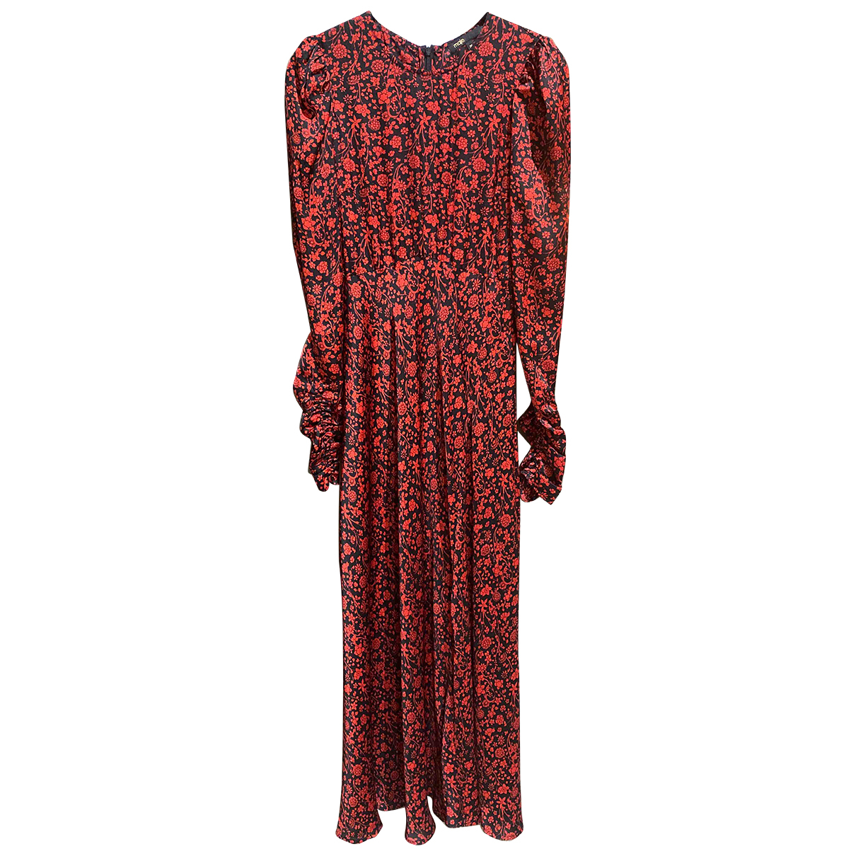 Maje Fall Winter 2019 Kleid in  Rot Polyester