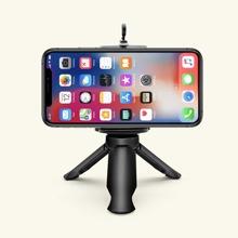 Einfarbiger Tisch-Handy-Stativhalter