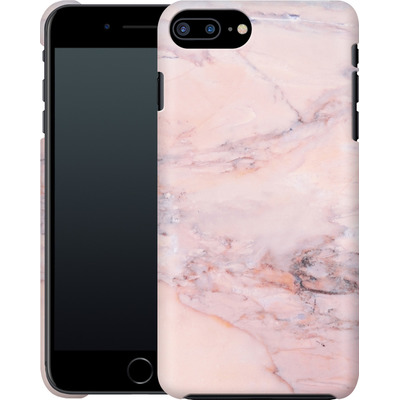 Apple iPhone 8 Plus Smartphone Huelle - Blush Marble von Emanuela Carratoni