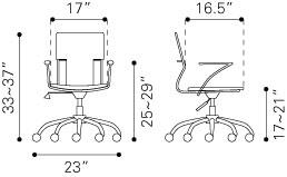 205183 Trafico Office Chair