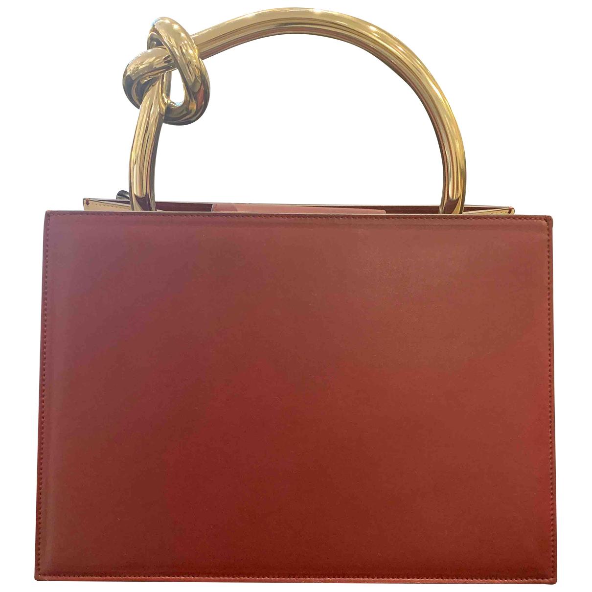 Benedetta Bruzziches N Burgundy Leather handbag for Women N