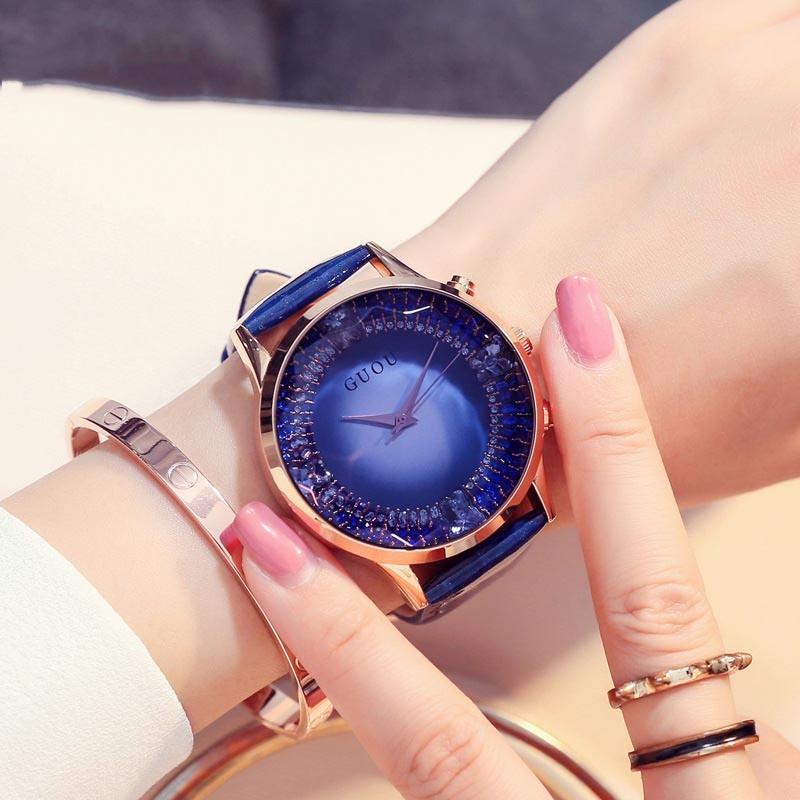 Ericdress Hardlex Water Resistant Round Watches