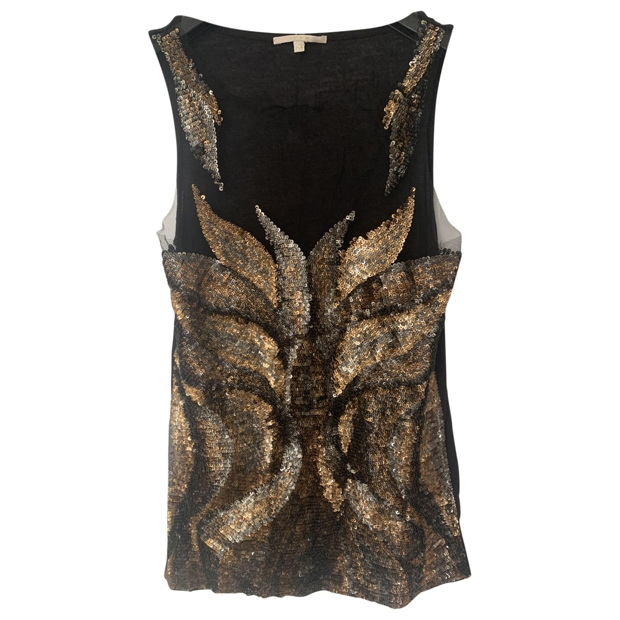 Amen Italy \N Gold  top for Women 38 FR