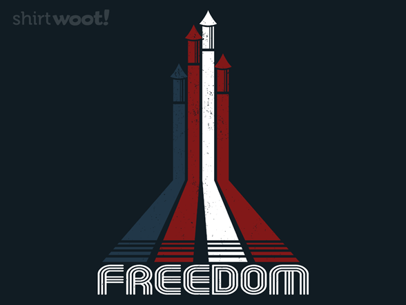 Retro Freedom T Shirt