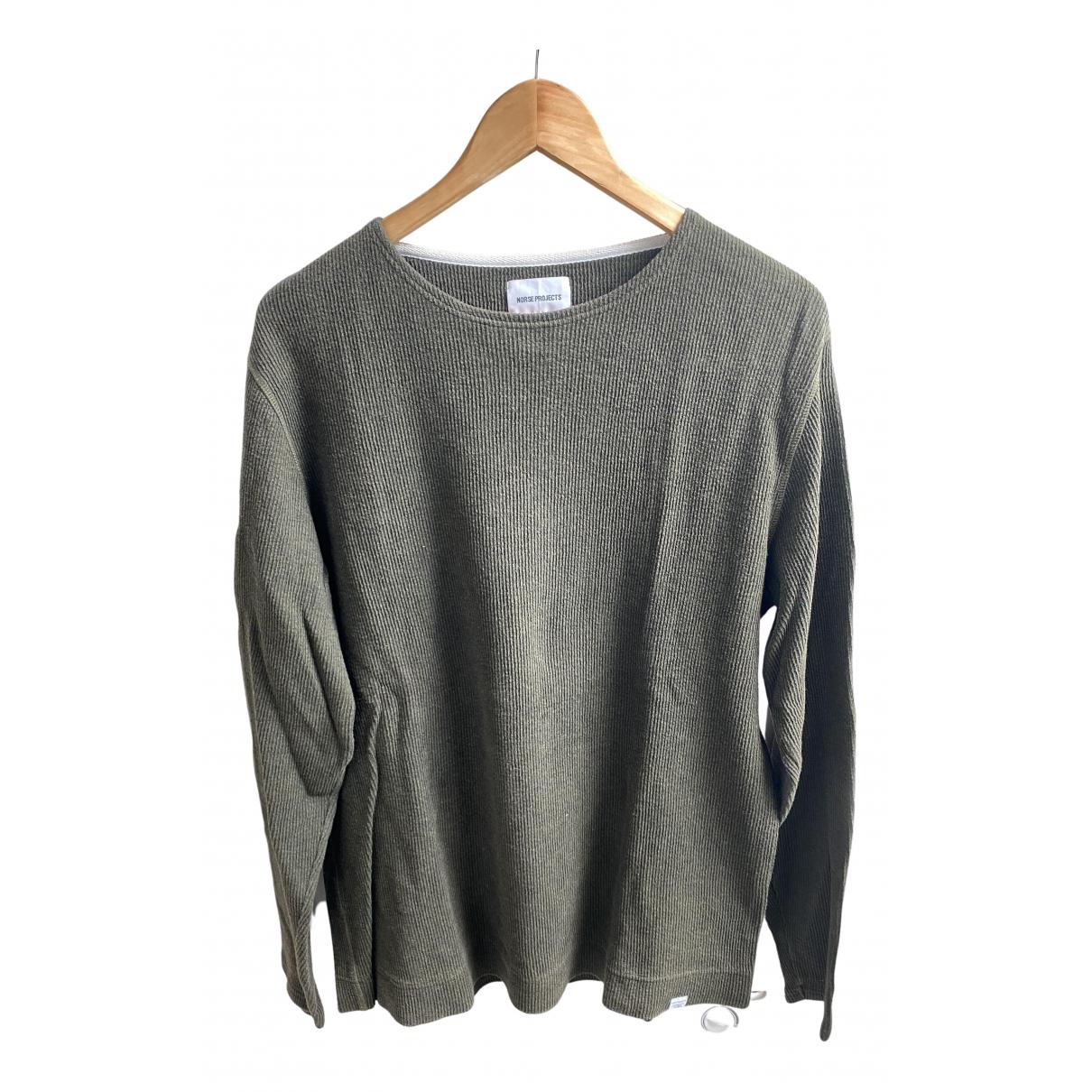 Norse Projects \N Pullover.Westen.Sweatshirts  Khaki