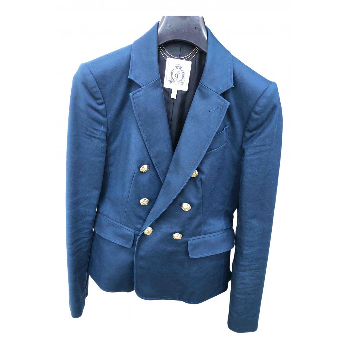 Chaqueta en Algodon Azul Juicy Couture