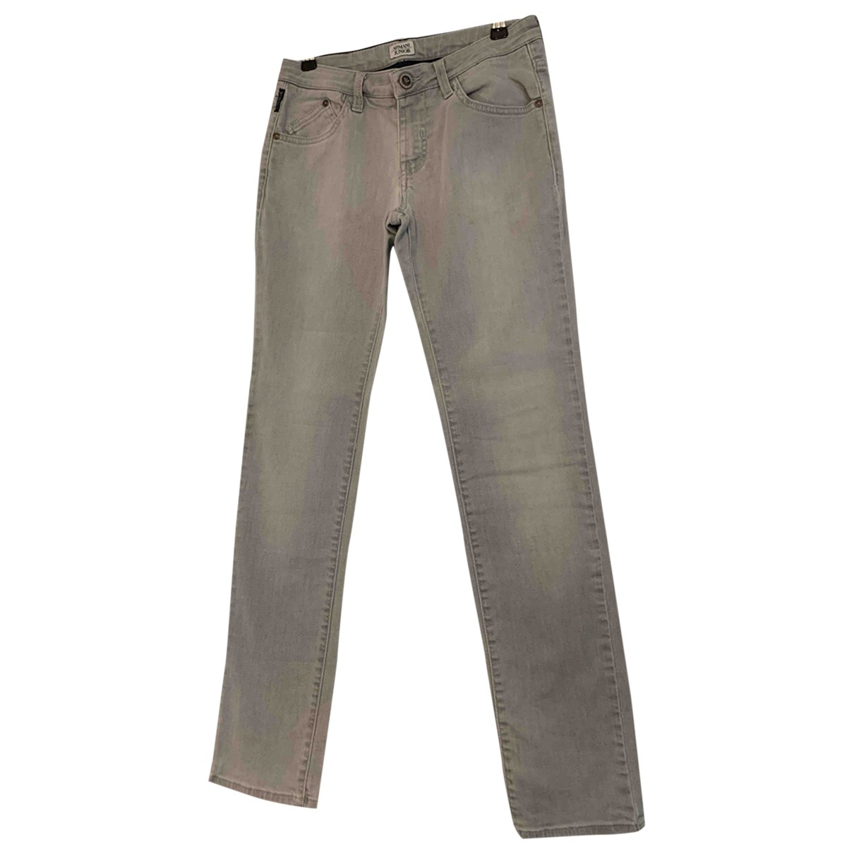 Armani Jeans N Grey Denim - Jeans Trousers for Kids 12 years - XS UK