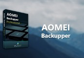 AOMEI Backupper Professional Edition + Lifetime Upgrade CD Key (Lifetime / 2 PC)