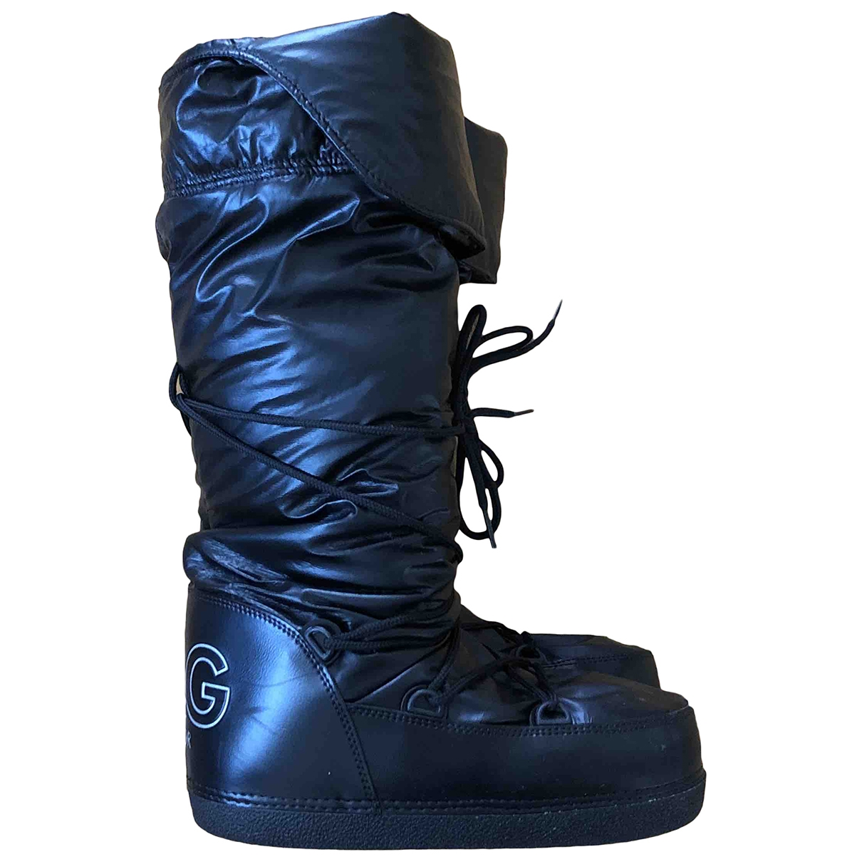 D&g \N Black Boots for Women 38 IT