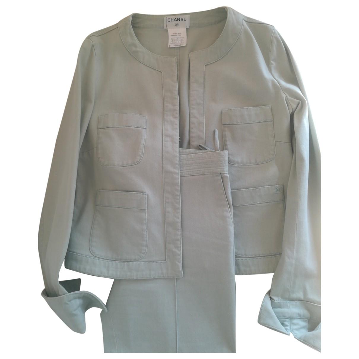 Chanel \N Blue Denim - Jeans jacket for Women 38 FR