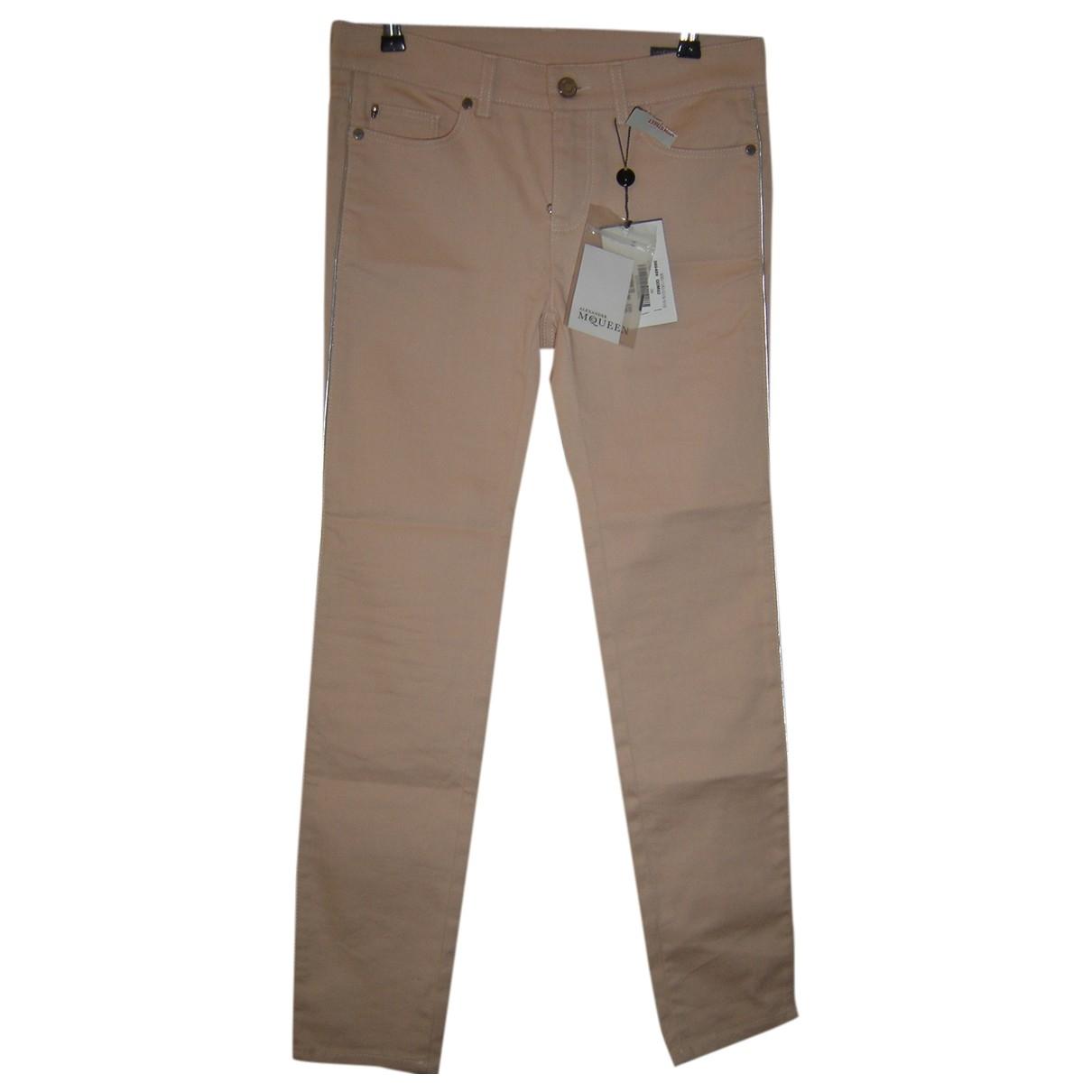 Alexander Mcqueen \N Cotton Trousers for Women S International