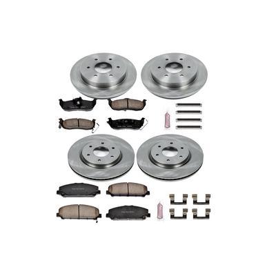 Power Stop 1-Click OE Replacement Brake Kits - KOE2804