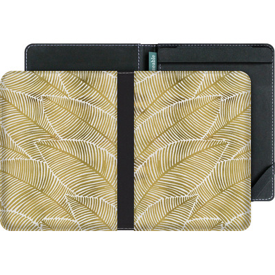 tolino vision eBook Reader Huelle - Tropical Leaves Gold von Cat Coquillette