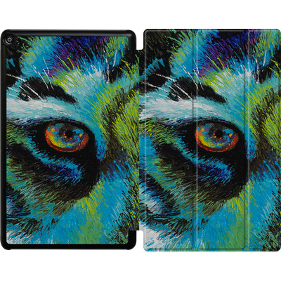 Amazon Fire HD 10 (2018) Tablet Smart Case - Will Cormier - Tiger Eyes von TATE and CO