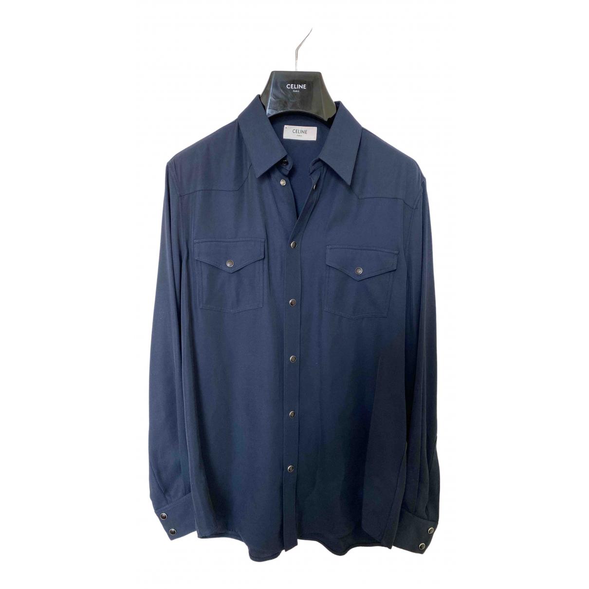 Celine - Chemises   pour homme - marine