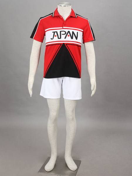 Milanoo New Tennis Of Prince Team Japan Tennis Wear For Summer Cosplay Costume